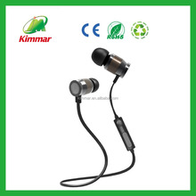 2016 newest unique magnetic wireless Mini Sports In-ear Stereo Bluetooth Earphone/Earbud
