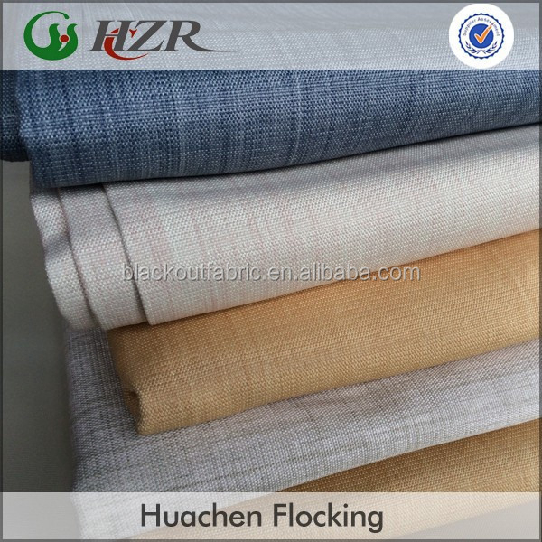 Polyester Cationic Dying Fabric with 3 Pass Coating for Blackout Curtain
