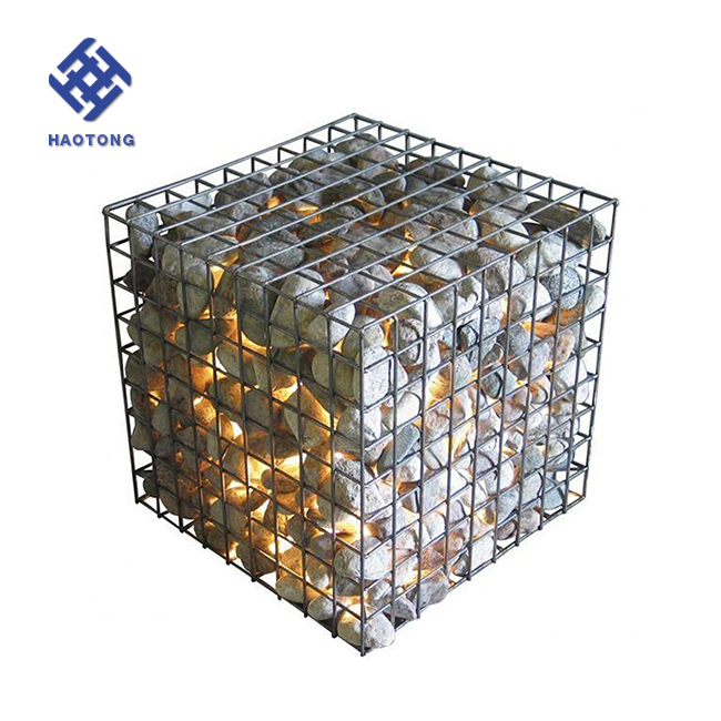 Decorative Wire Mesh Boxes Welded Wire Mesh Gabion Boxes