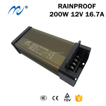 MLD-200-12RP meanwell high quality rainproof led driver power supply