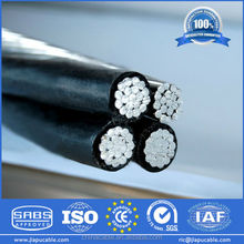 600V self support conductor ABC Cable (AERIAL BUNDLE CABLE ) overhead electrical cable price
