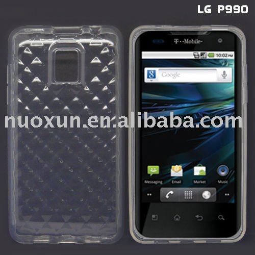 TPU case for LG Optimus 2X/ P990/ 990 star