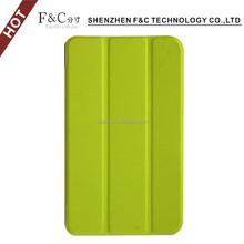 Cover tablet pure color case back cover for acer Lconia one 7 B1-770 with vertical stand