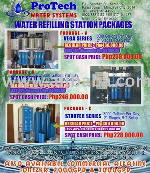 Water Refilling Station System Packages Buy Water