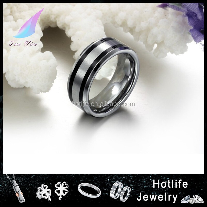 fashion ring 2016 jewelry men tungsten carbide wedding ring