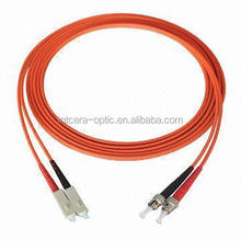 SC-ST Duplex OM1 Fiber 62.5/125 Multimode Patch Cable