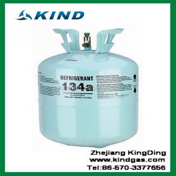 13.6kg/30lbs 99.9% pure disposable cylinder refrigerant gas <strong>r134a</strong>