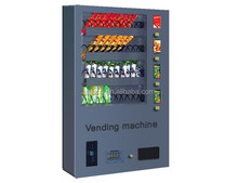 Wall-mounted small snack vending machine