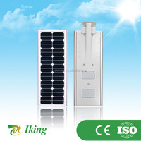 Outdoor Solar Power Garden Light IP65 20w 40w 60w All In One Integrated LED Solar Street Light