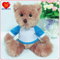 Cute safe soft bear plush doll animals stuffed plush bear toys (PTAL1608049)