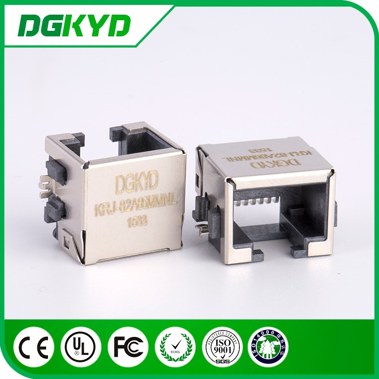 Factory price 8P8C Jack extra low profile RJ45 Connector , SMT