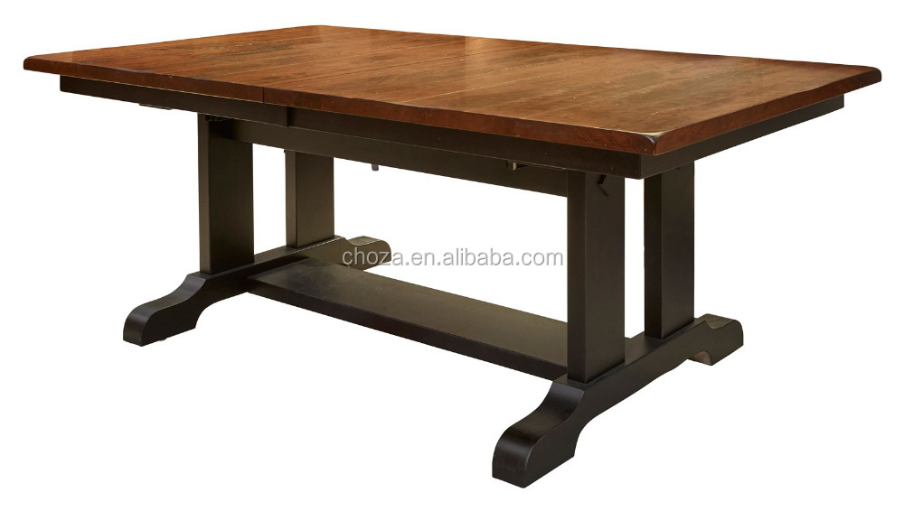 F50751A-1rectangular hotel banquet hall tables soild wood dining table