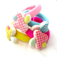 Rubber bands for hair,fancy typr hair bands,candy colour hair bands for little girls