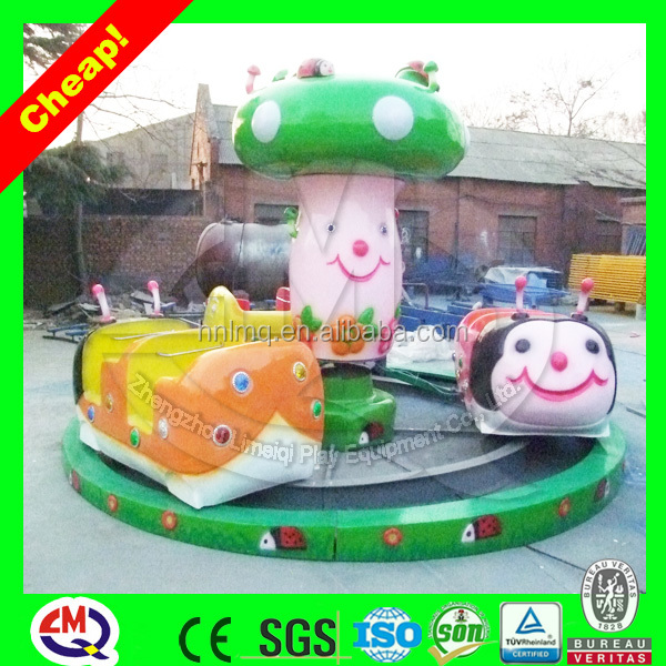 Lively ladybug kiddie indoor metal toy train for Christmas