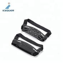 JH-236 Overshoes Anti Slip Snow Ice Climbing Spikes Grips Crampon Cleats