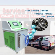 Mobile car clean service hho engine carbon clean auto car wash equipment