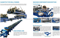 Open Square Pipe Roll Forming Machine