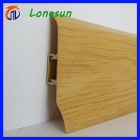 Plastic bathroom accessories wall baseboard moulding