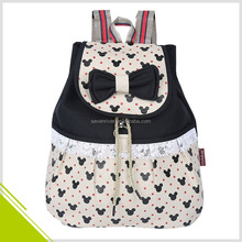 European Style Lace Design Cute Girl Canvas Bags Backpack School
