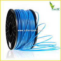 Flexible 3D Printer Filament 1.75/3.00mm Pla Transparent Blue Filament For 3D Printing Pen