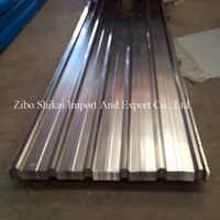 corrugated galvalume steel roof tile