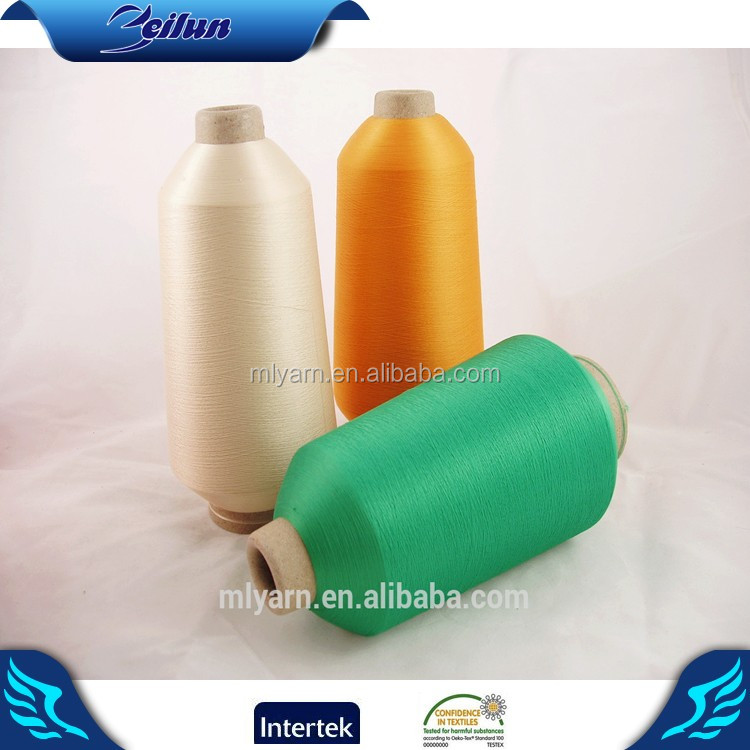 Factory outlet high twist tube polyester yarn price