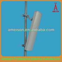 17dbi 5100 - 5850 MHz Directional Base Station Repeater Sector Panel Antenna internet service provider wifi antennas