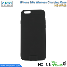 High efficiency Qi Wireless Charger Receiver Case back cover case for iPhone 6 6s