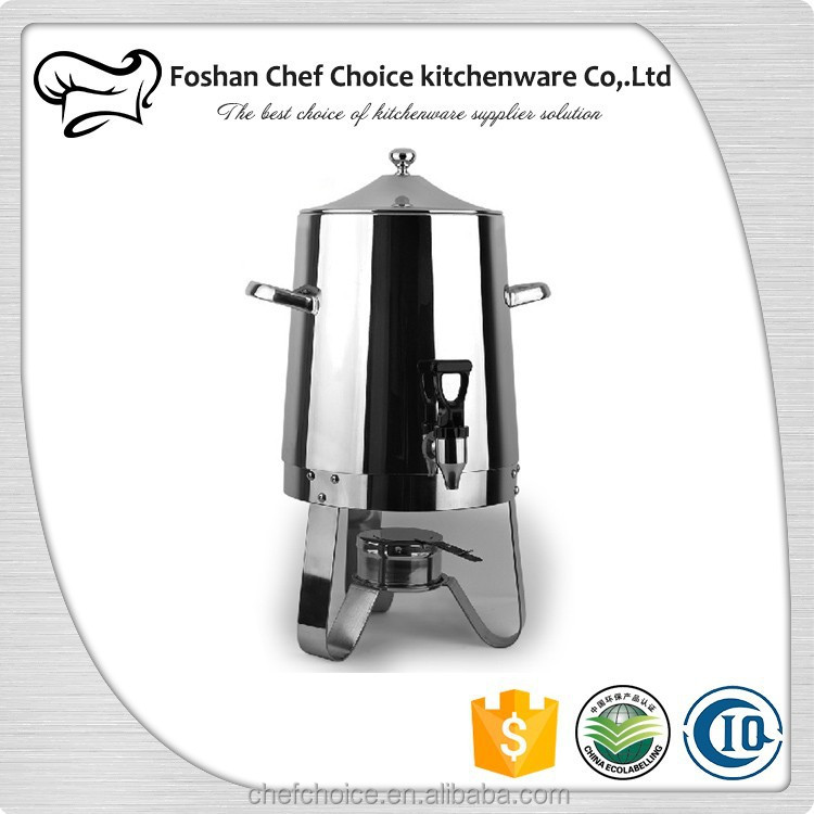 Stainless Steel Buffet and Resturant Coffee Dispenser Catering Hot Milk Dispenser Hotel Desktop Hot Milk Tea Dispenser