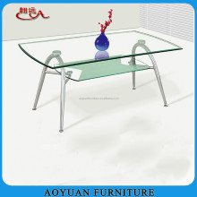 B14 fashional contemporary glass coffee table