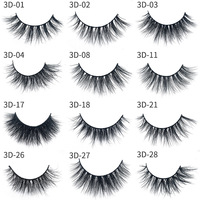 100% cruelty free faux 3d mink lashes private label mink eyelashes 5pair in one set vegan eyelashes cheap price lashes
