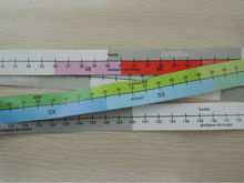 150CM/60inch colorful paper tape measure