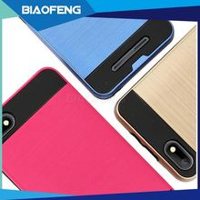 Wholesale Cell Phone Case TPU PC 2 in 1 Hybrid Combo Phone Skin Back Cover Case for BLU Advance 5.0 HD