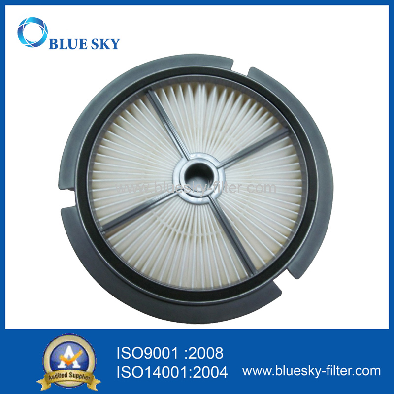 Circular HEPA Filter with Plastic Frame for Vacuum Cleaner