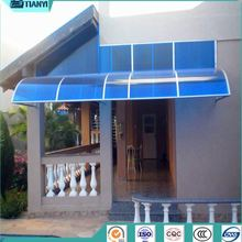 door aluminum polycarbonate rv awning manufacturers
