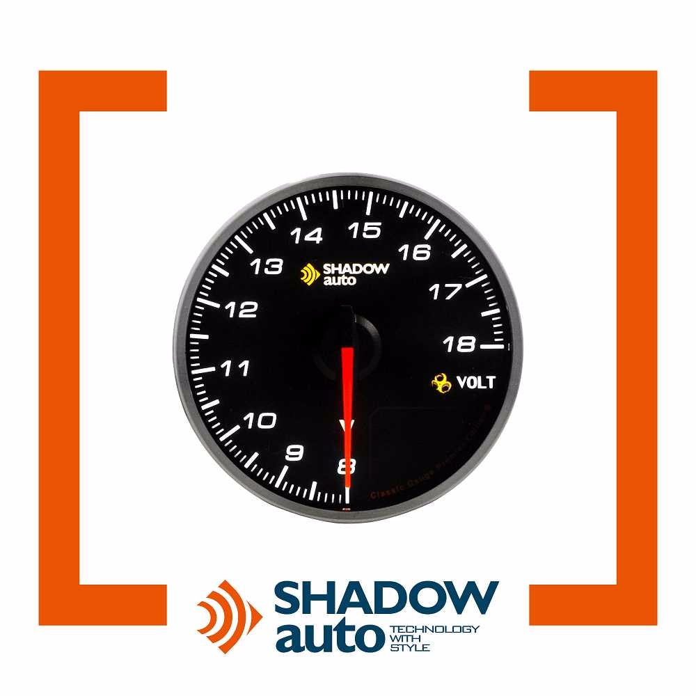 Shadow Classic Voltage Gauge K5 Mitsubishi Montero Skyline