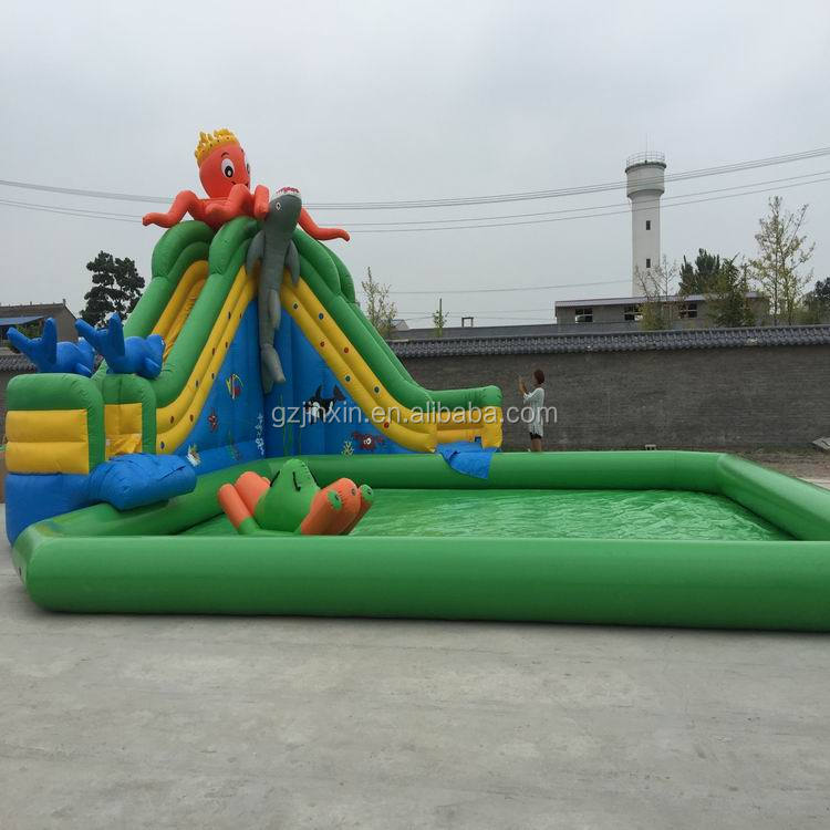 Giant Inflatable Water Theme Park Slide Equipment Cheap Prices Inflatable Aqua Parks Water Playground For Sale