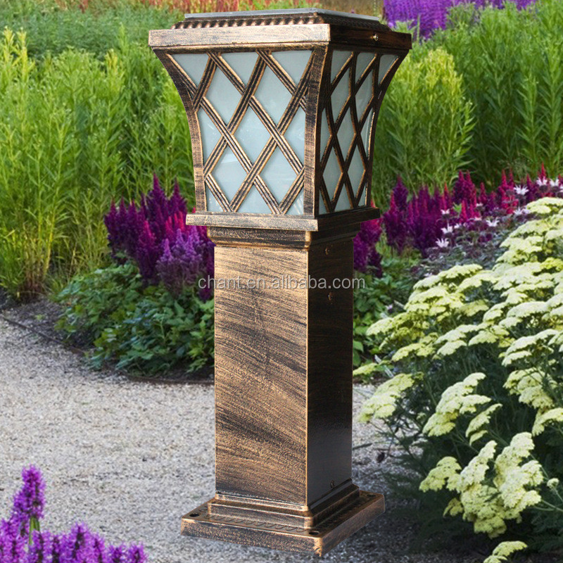 70CM solar energy lawn lamp led garden lamp outside villa lawn road lamp solar light with aluminium die casting material