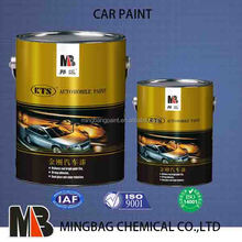 White pearl fast dry auto paint