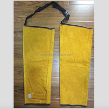 High quality Kevlar stitched Cow Split Leather Safety Welding Sleeves
