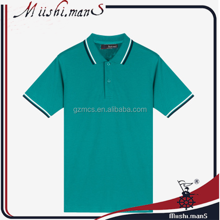 high quality blank polo shirt cotton for own originality from clothing market