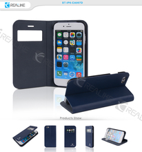 Business Leather Case for iPhone 6 , belk leather smart cover cases