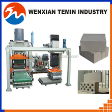 1100T Automatic PLC Hollow hydraulic brick machine with ISO9001 and CE High Pressure Cement brick making machine