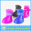 Candy Cute Cartoon Pet Rain Shoes Boots Anti Slip Protective Rubber Cat Dog Walk in Rain Light Weight Shoes