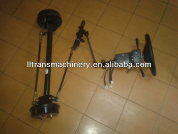 5kw electric vehicle front steering axle