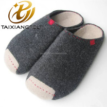 Wool felt sole super soft bedroom shoe