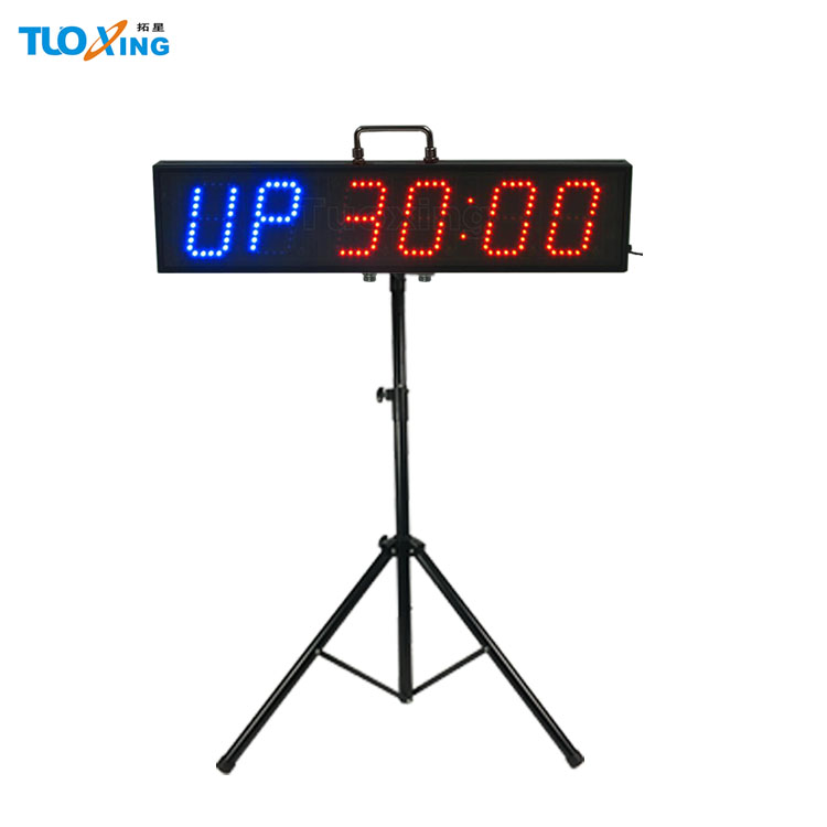 [Promotion] 6 digit 4 inch LED interval <strong>timer</strong>, crossfit <strong>timer</strong>, tabata <strong>timer</strong> table <strong>timer</strong> with handle for sale