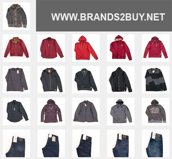 NO-EXCESS men's clothes - Branded apparel stocklot