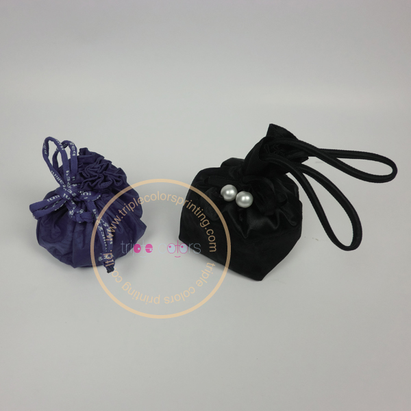 Jewelry Satin Pouch Bag