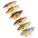 High Quality 6.4cm /8.64g VIB Pencil Baits Painting Fishing lures